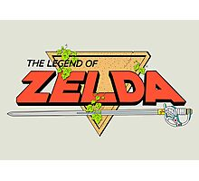The Legend of Zelda Logo Photographic Print