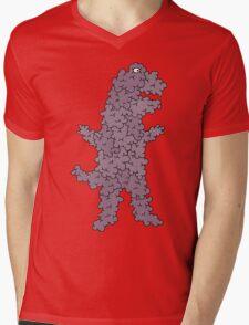 dinobubble Mens V-Neck T-Shirt