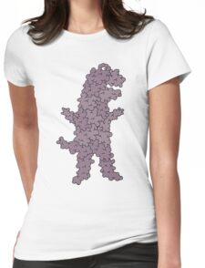 dinobubble Womens Fitted T-Shirt