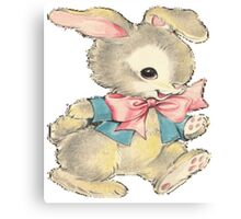 Playful Bunny Canvas Print