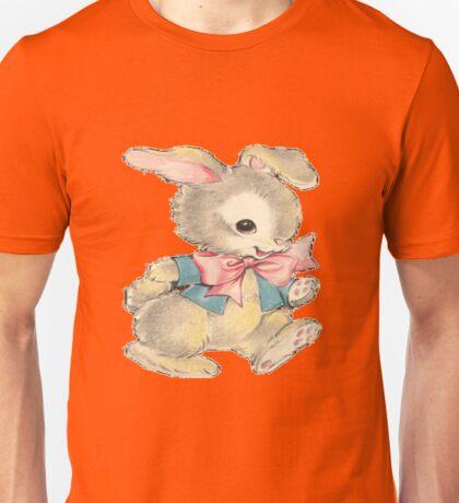 Playful Bunny Unisex T-Shirt