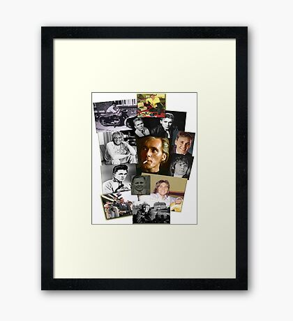 Billy through the years Framed Print