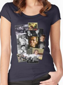 Billy through the years Women's Fitted Scoop T-Shirt