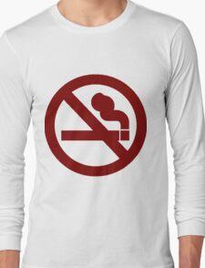 No Smoking Long Sleeve T-Shirt