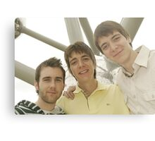 James, Oliver and Matthew Metal Print