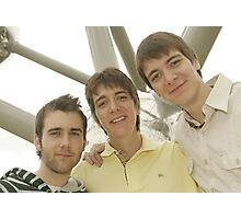 James, Oliver and Matthew Photographic Print