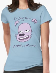 Lion the Mood Womens Fitted T-Shirt