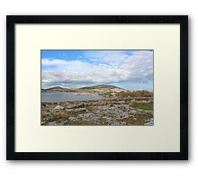 Touching the clouds Framed Print