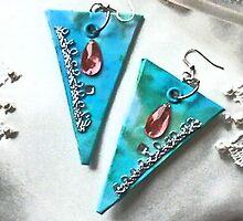 Paintball dangle earrings image by sarnia2