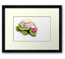 Toy Tortoise Framed Print