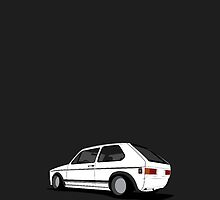 White MKI OG Golf iPhone Case by VolkWear