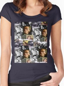 BILLY FURY through the ages Women's Fitted Scoop T-Shirt