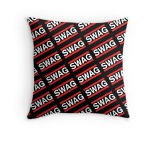 SWAG Pattern - Run Dmc Style Throw Pillow