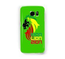 Reggae Rasta Iron, Lion, Zion 2 Samsung Galaxy Case/Skin