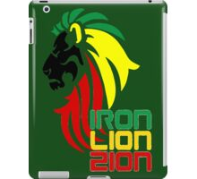 Reggae Rasta Iron, Lion, Zion 2 iPad Case/Skin
