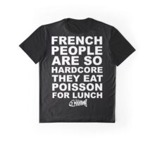 Poisson For Lunch Graphic T-Shirt
