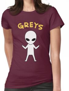 Oikawa Tooru's Alien Shirt Design Womens Fitted T-Shirt
