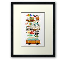 Best trip ever Framed Print