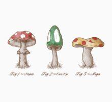Mario Mycology Baby Tee