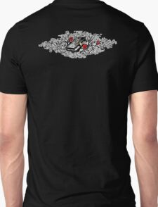 Roses and Bible, Biblical, Book, Religion, Belief, Goth, Gothic, Vampire Unisex T-Shirt