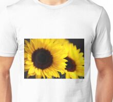 Two beautiful sunflowers Unisex T-Shirt