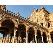Plaza de Espana - The stunning architecture Photographic Print