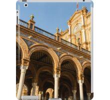 Plaza de Espana - The stunning architecture iPad Case/Skin
