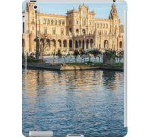 Seville - A view of Plaza de Espana  iPad Case/Skin