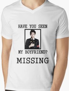 EXO Chanyeol - Have You Seen My Boyfriend Mens V-Neck T-Shirt