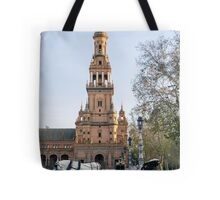 Seville - A view of Plaza de Espana  Tote Bag