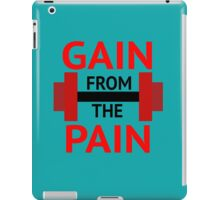 No Pain, No Gain. iPad Case/Skin