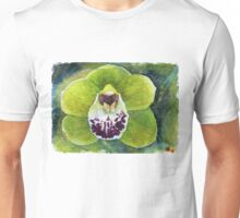 Cymbidium Orchid watercolor pencils Unisex T-Shirt