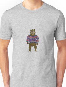 Bad Knit Bear Unisex T-Shirt