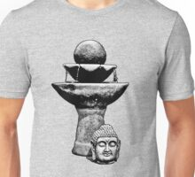 Buddha Head Fountain Peace Unisex T-Shirt