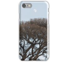 Under a glass Moon iPhone Case/Skin