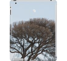 Under a glass Moon iPad Case/Skin