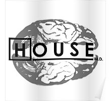 House M.D. Brain Anatomy Poster
