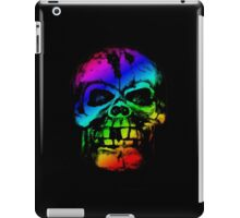 Rainbow Gradient Skull iPad Case/Skin