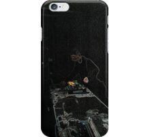 BLACK Electronic Underground #20 iPhone Case/Skin