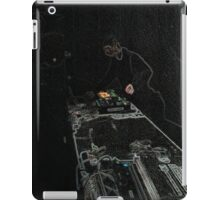BLACK Electronic Underground #20 iPad Case/Skin