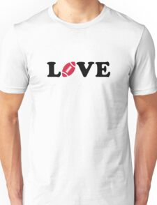 Football love Unisex T-Shirt