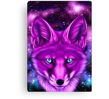 Galaxy Fox Canvas Print