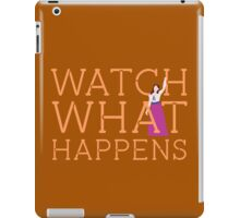Newsies: Watch What Happens iPad Case/Skin