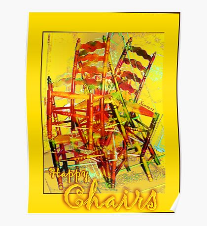 Happy Chairs Poster