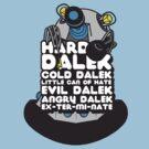 Hard Dalek Cold Dalek New Design (Grey/Blue) by B4DW0LF