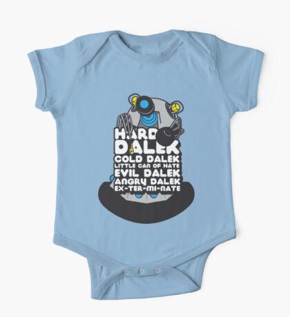 Hard Dalek Cold Dalek New Design (Grey/Blue) One Piece - Short Sleeve