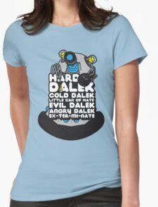 Hard Dalek Cold Dalek New Design (Grey/Blue) Womens Fitted T-Shirt