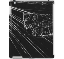 BLACK Electronic Underground #10 iPad Case/Skin