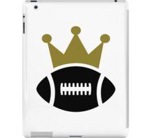 Football crown champion iPad Case/Skin