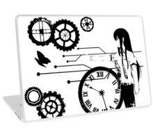 Steins;Gate - Kurisu Makise Trapped in Time Laptop Skin